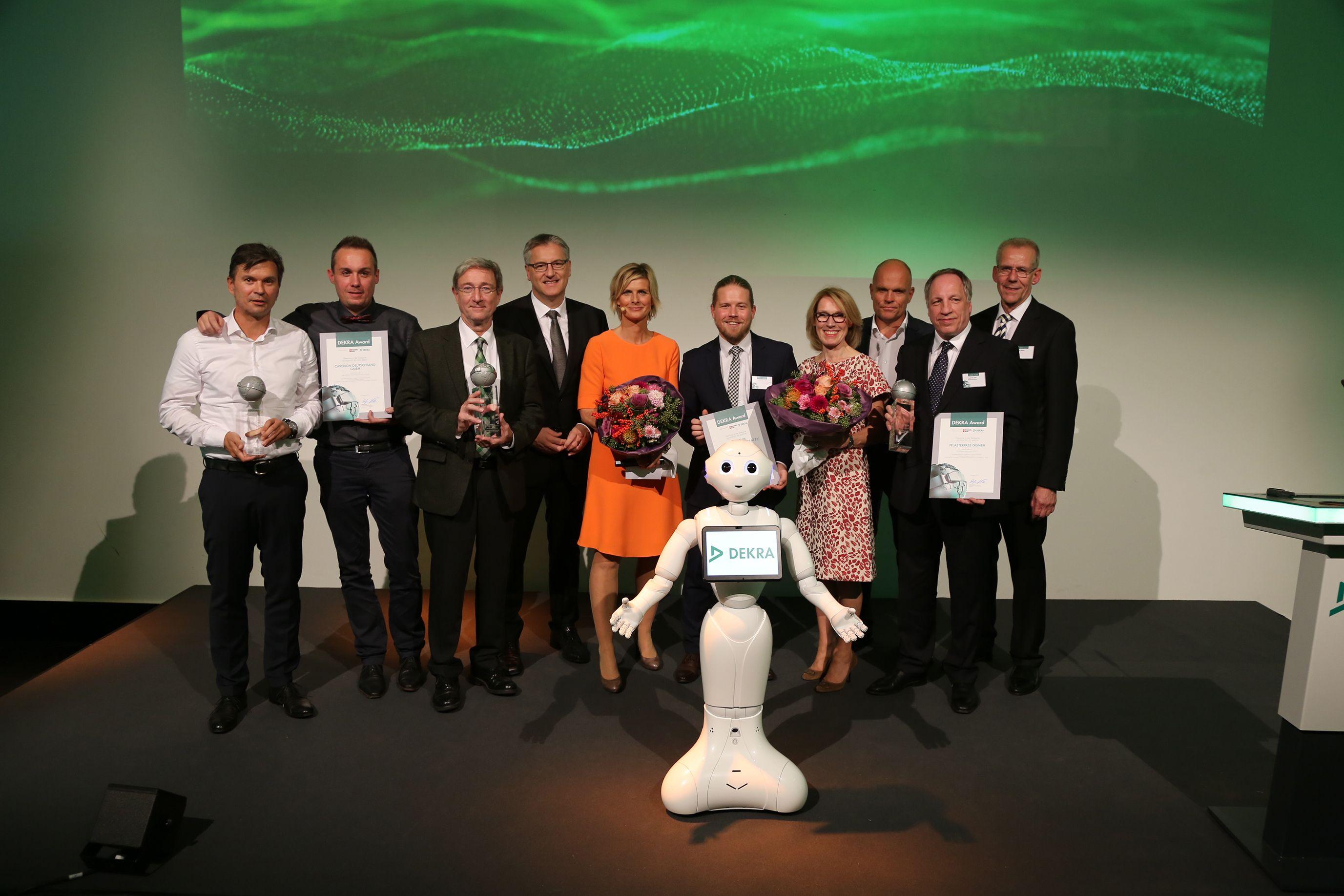 Gewinner des DEKRA Awards 2017 © DEKRA