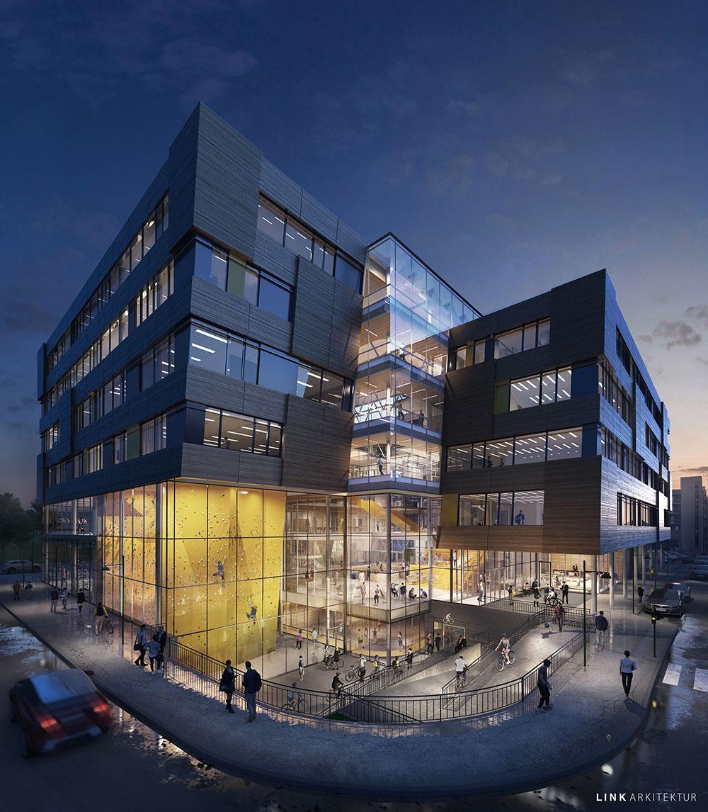 Link-architects-trondheim-NTNU