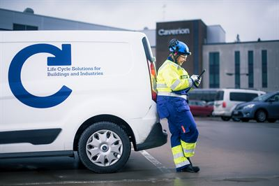 Caverion reningsverk Klintehamn