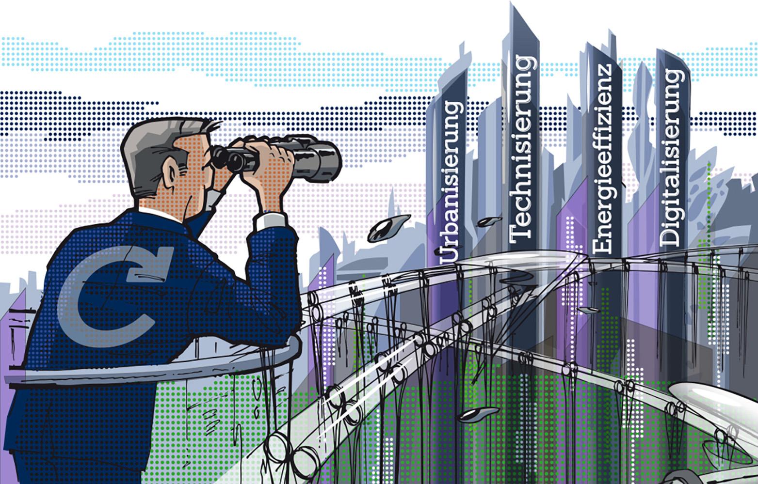 Zukunftsthemen auf der Expo Real © Caverion GmbH