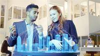 Caverion hologram smart city