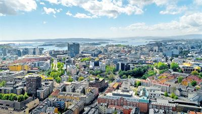 Buildings in Oslo city