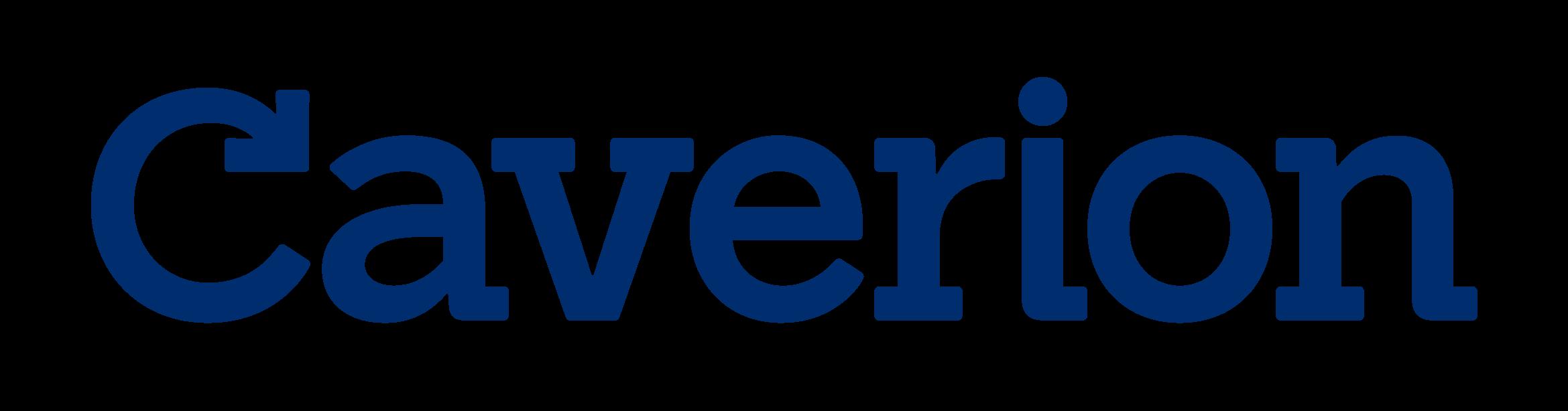 caverion logo blue large