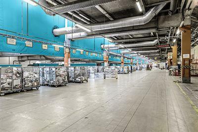 PostNord facility-Fotograf Kalle von Hausswolff