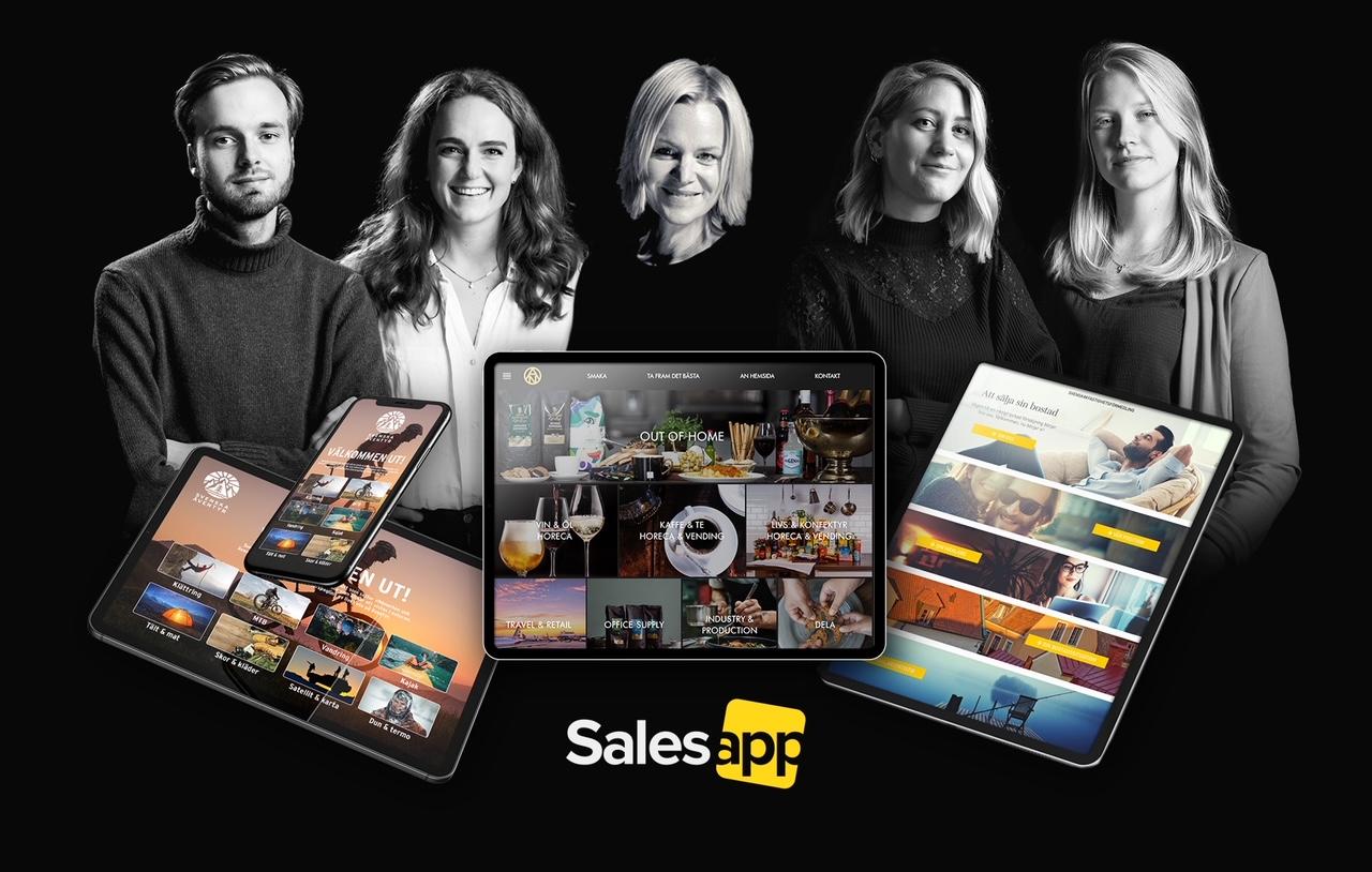 """SMG lanserar SaaS-tjänsten Salesapp – digitaliserar varumärkens distribution av innehåll """"på fältet"""""""