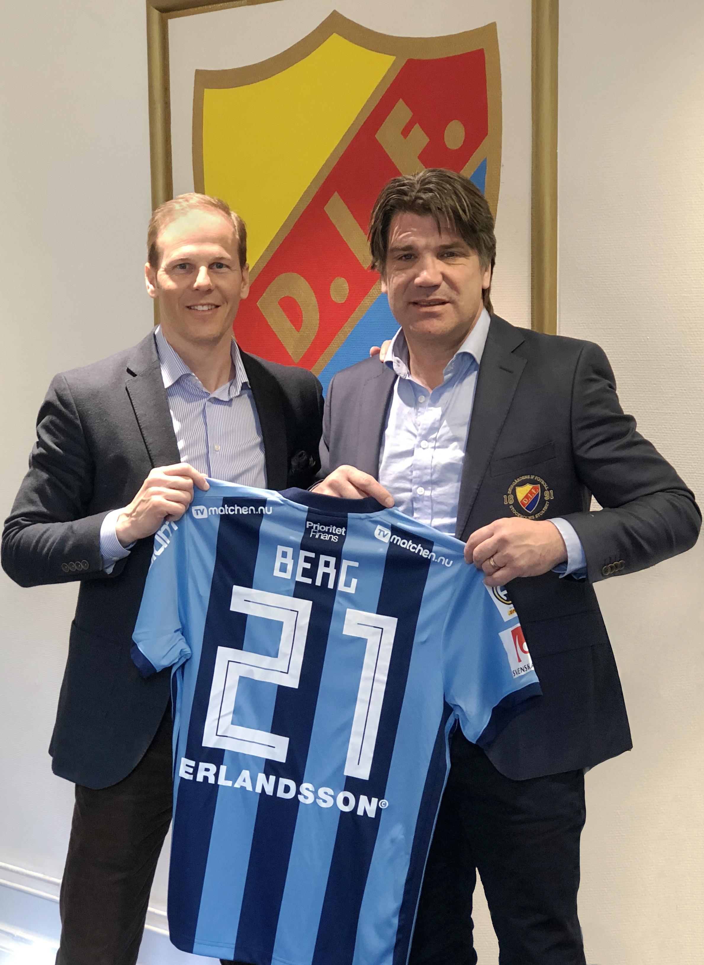 TVmatchen.nu blir officiell partner till Djurgårdens IF Fotboll
