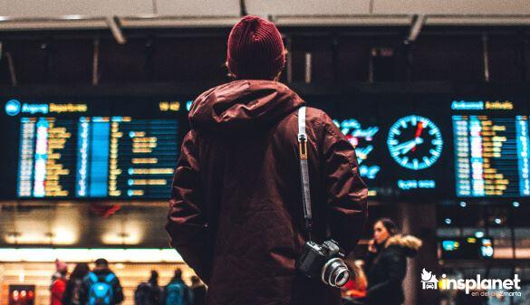 Flygplats efter frseningar