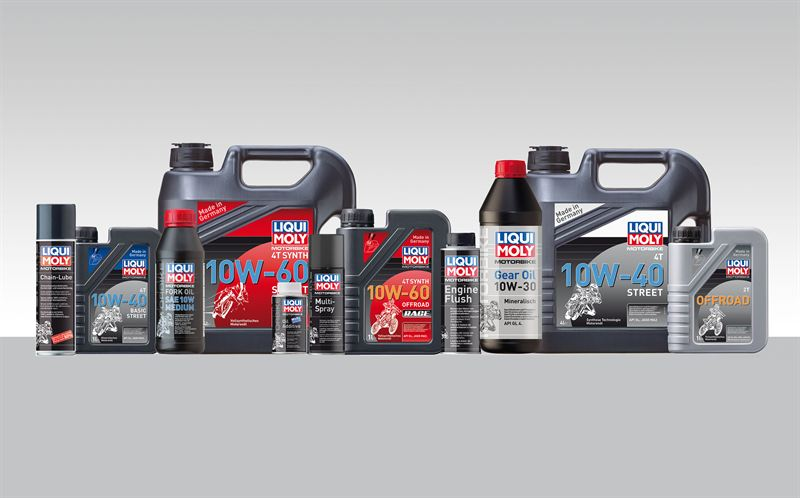 Chemical tools for motorbikes - Liqui Moly