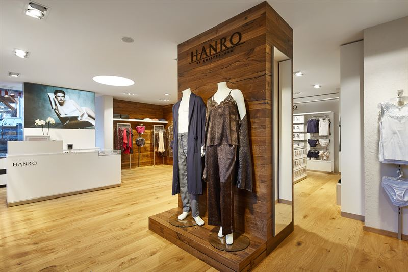 elegant shoes stable quality cheap price New HANRO Store in Gstaad (Switzerland) - Hanro