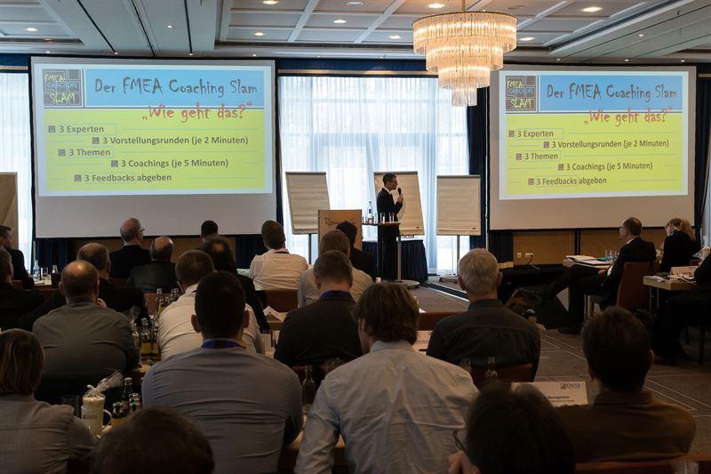 Der FMEA Coaching Slam  innovative Form des Lernens beim FMEAForum von DIETZ CONSULTANTS