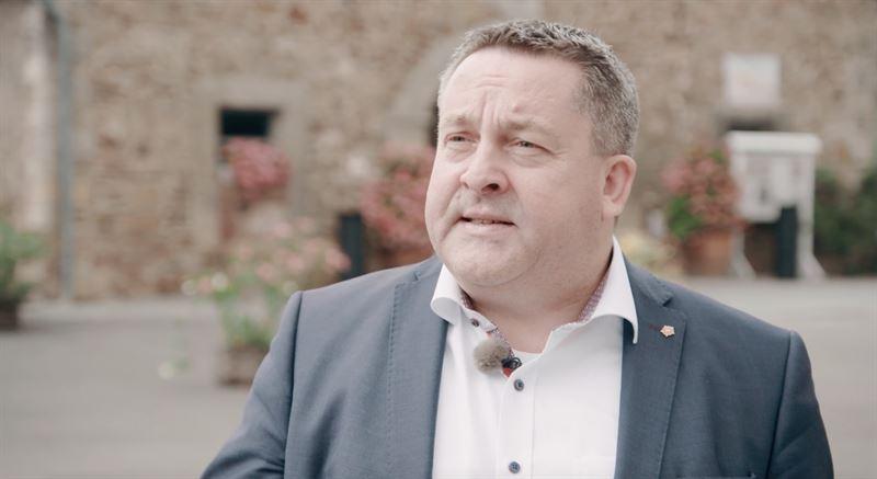 Landrat Dr Axel Lehmann als Presenter der Lippe Story