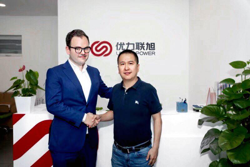 LightAirs VD Mikael Perez trffar partner i Kina