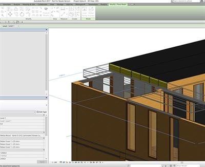 Free Downloadable Open Source Wood 3d Design Objects For Bim And Cad Software Metsa Wood