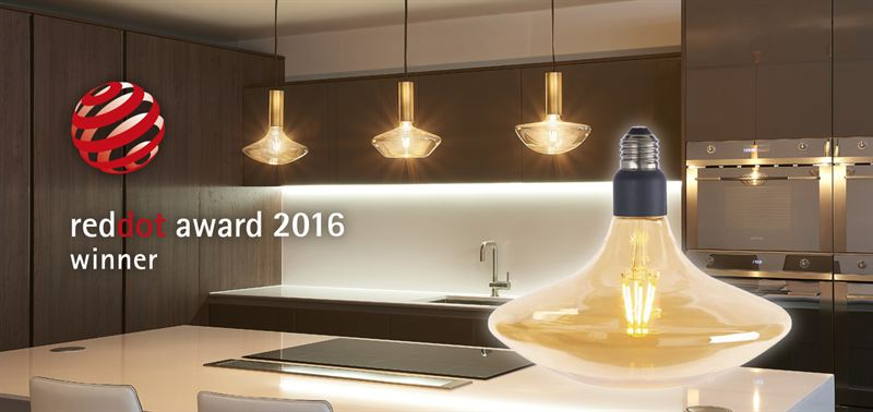 Feilo Sylvania Wins Reddot Award 2017 Lighting Design