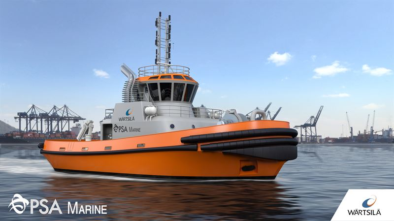 PSA Marine's new LNG-fuelled harbour tug to be designed and equipped