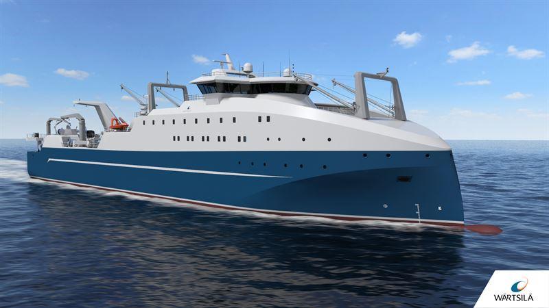 Wärtsilä Ship Design enables unique capabilities for new