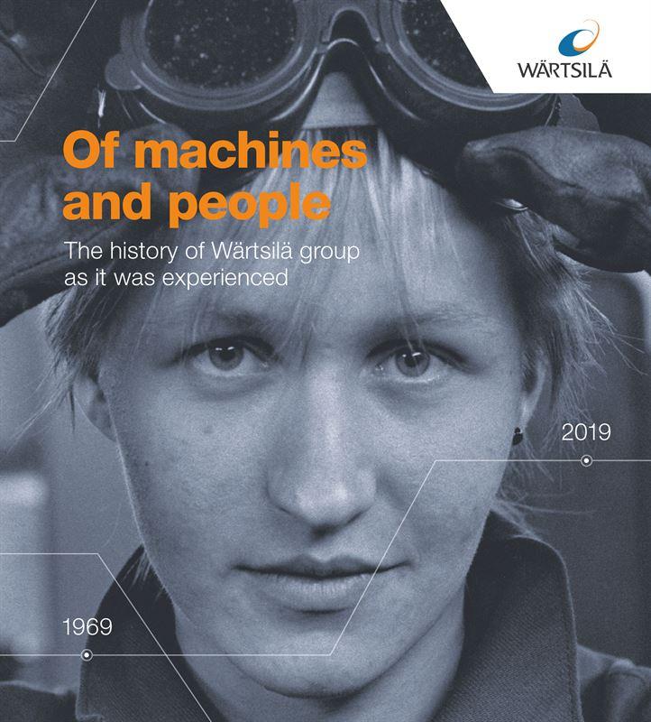 Wärtsilä Brand Hub: 'Of Machines And People' Is A Book Portraying Wärtsilä's
