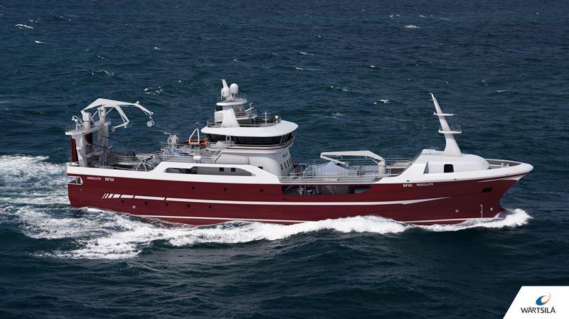 Wartsila Ship Design Chosen For State Of The Art Fishing Vessel