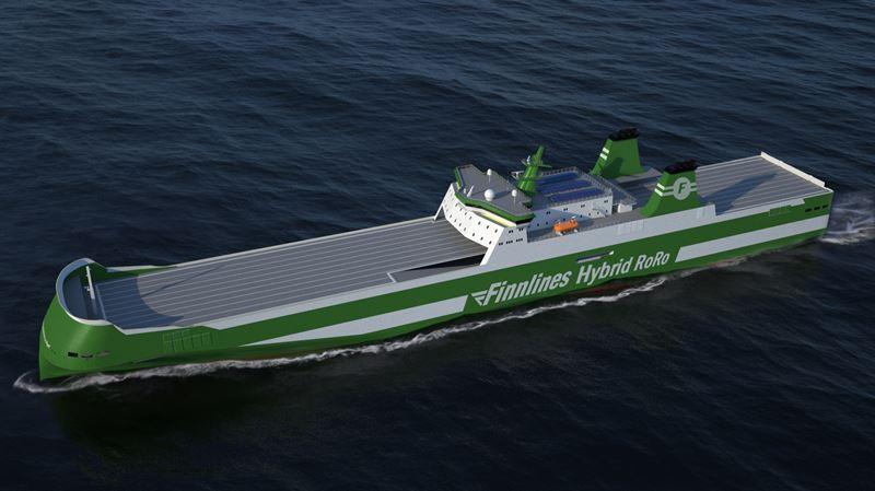 Finnlines RoRo newbuilding