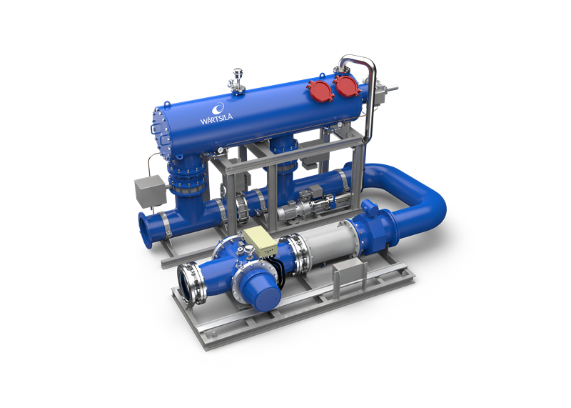 Caption: The Wärtsilä Aquarius UV BWMS has been tested and approved to the highest standards.