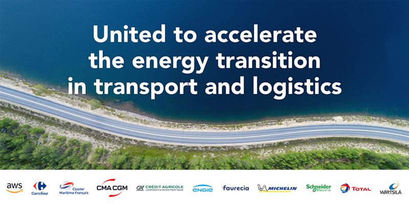The coalition's objective is to unite in order to accelerate the energy transition in transport and logistics.