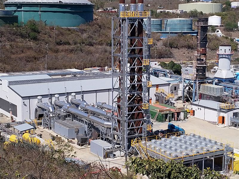 VIWAPA– Randolph Harley Power Plant Expansion Project with WAPA-2 site.