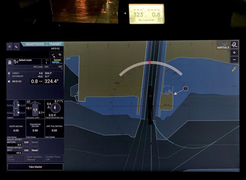 The Wärtsilä SmartDock User Interface was developed using user-centered design principles. © ASC-Rand Holdings LLC