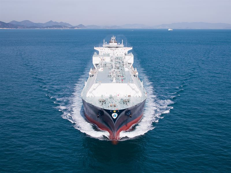 The 'Minerva Kalymnos' is one of five Minerva Gas LNG Carriers to be covered by long-term Wärtsilä Optimised Maintenance agreements. © Minerva Gas Inc