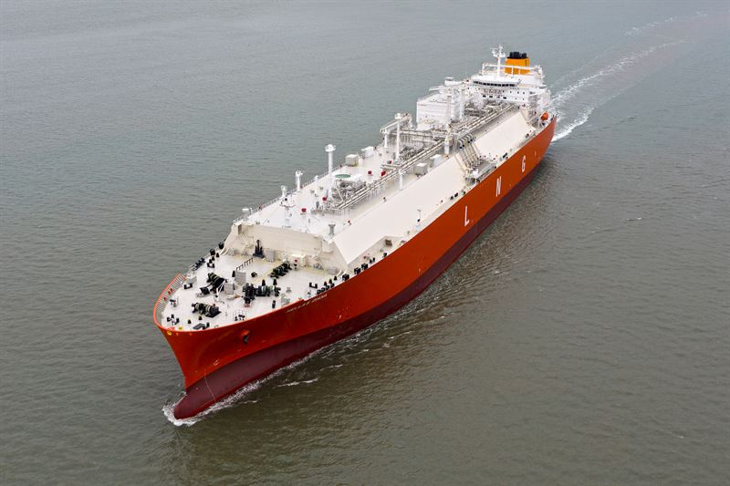 The 'Hellas Diana' is one of the two vessels in the Latsco LNG Marine Management fleet to be covered by the latest Wärtsilä Optimised Maintenance agreement. © Latsco LNG Marine Management