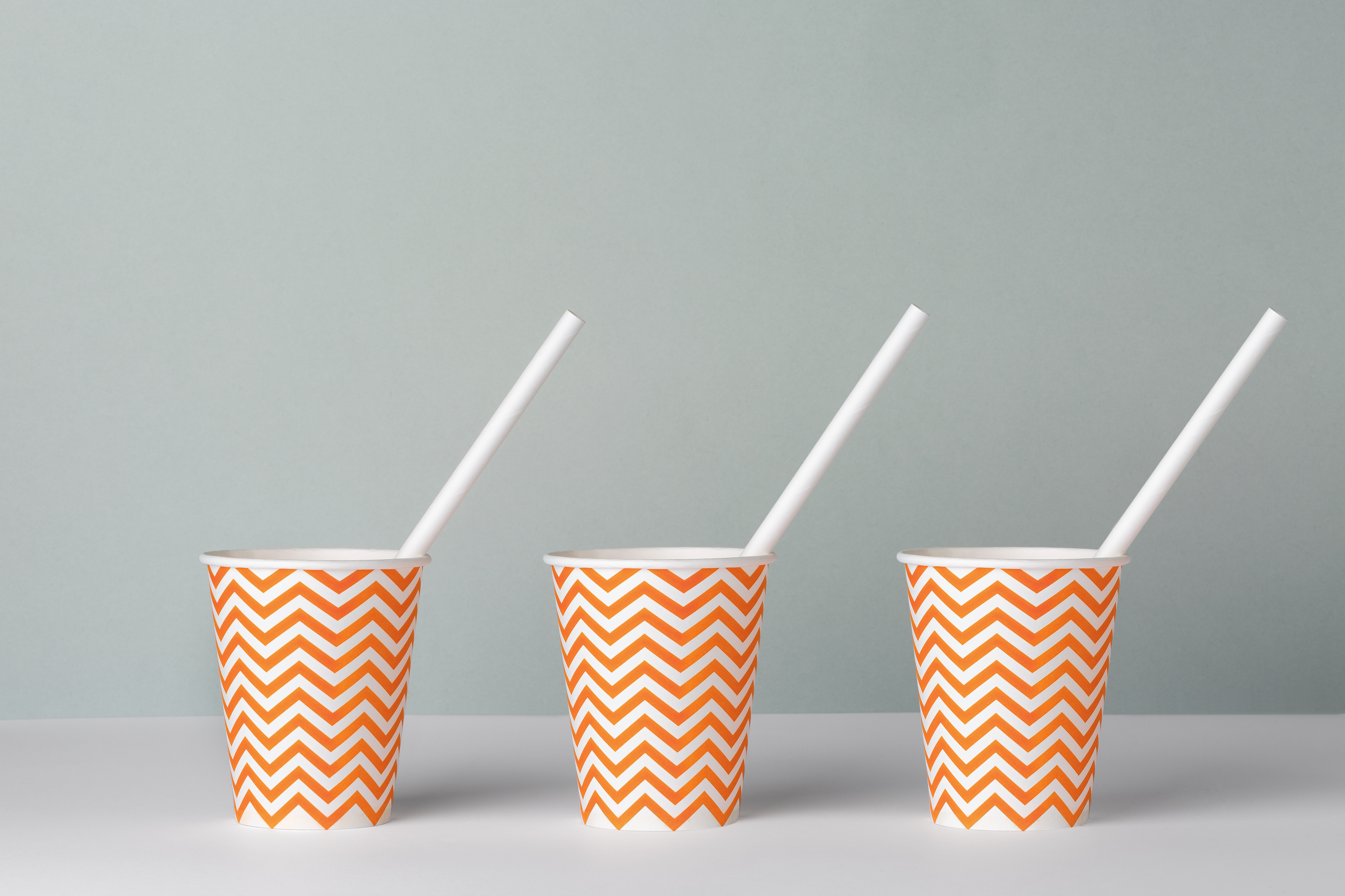 HD Horizontal CelluStraw PaperStrawSolution 3 gobelets