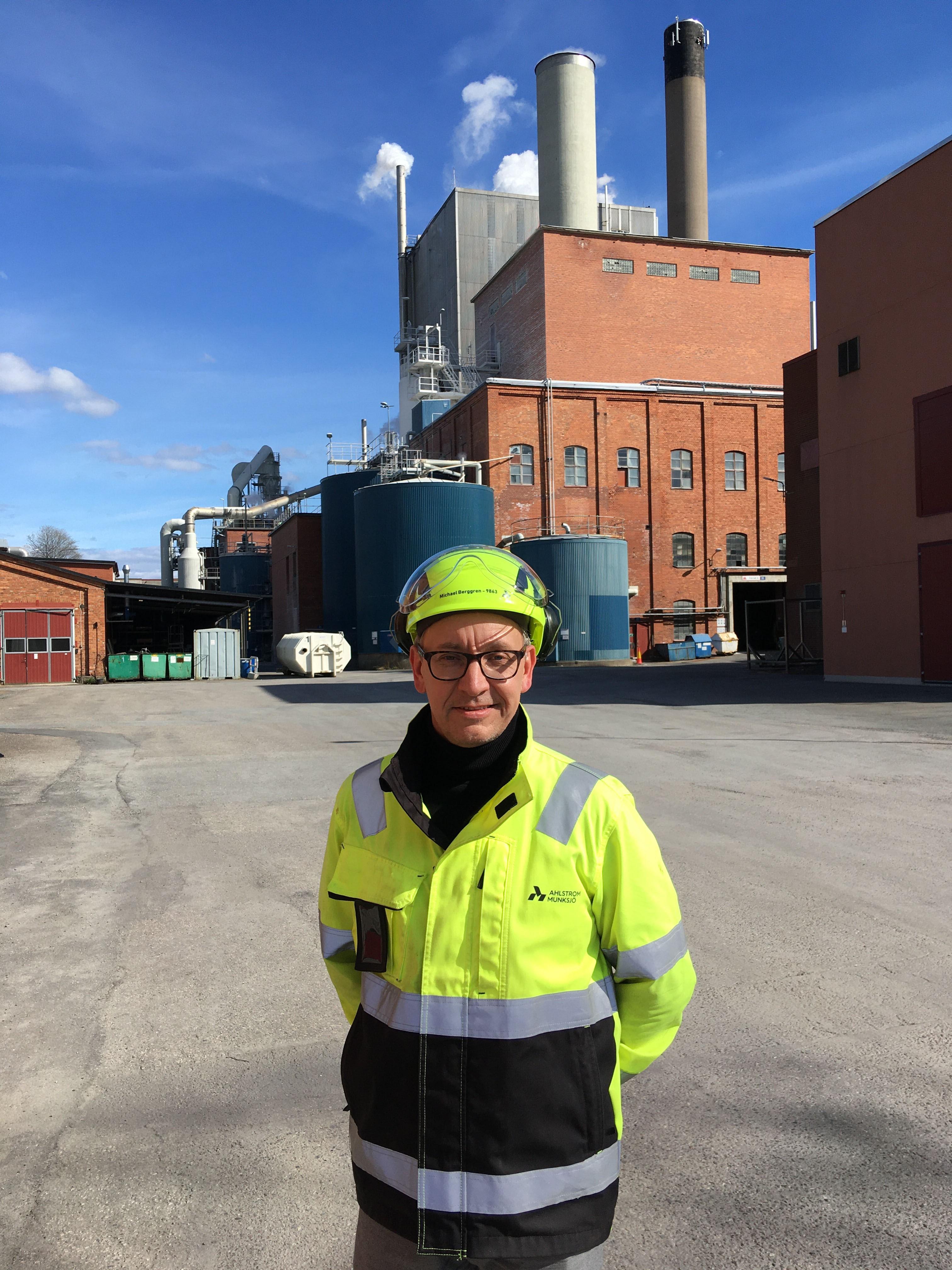 Michael Berggren, Aspa plant manager