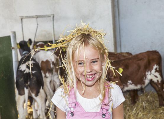 Bild lantbruk flicka