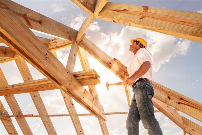 Träkonstruktion byggare
