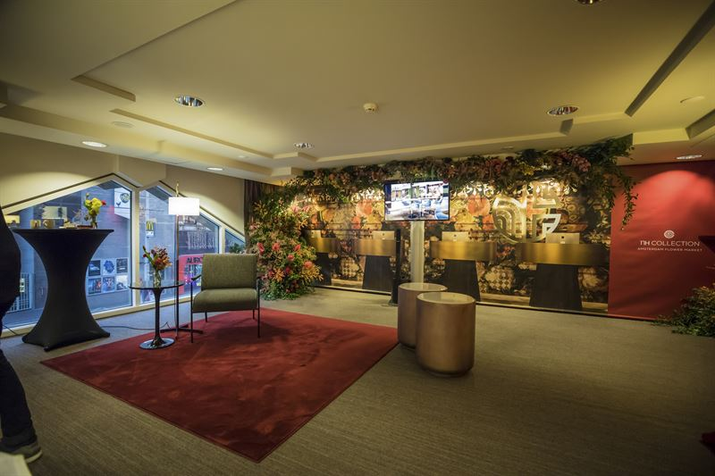 Rendering Nh Collection Amsterdam Flower Market Nh Hotel Group