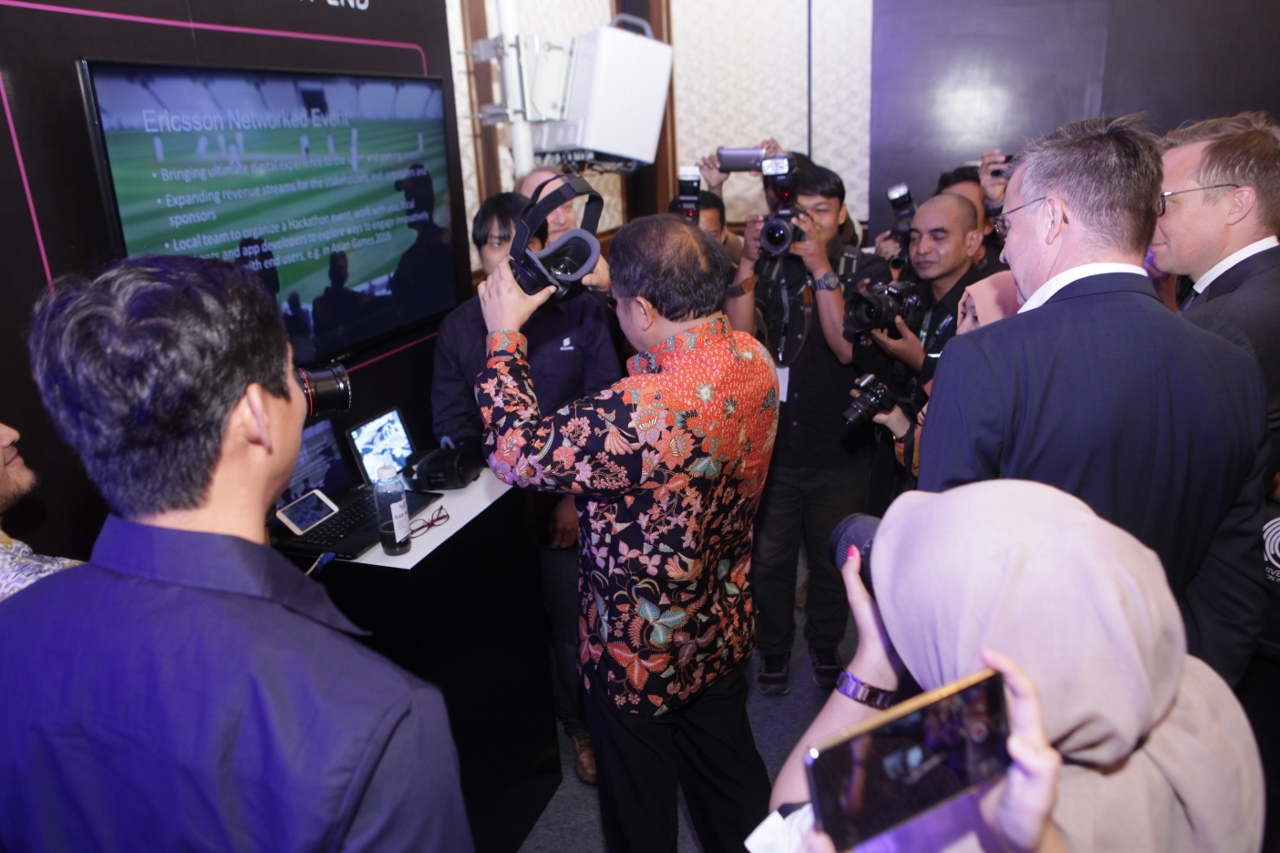 ICT Minister Key Event Experience