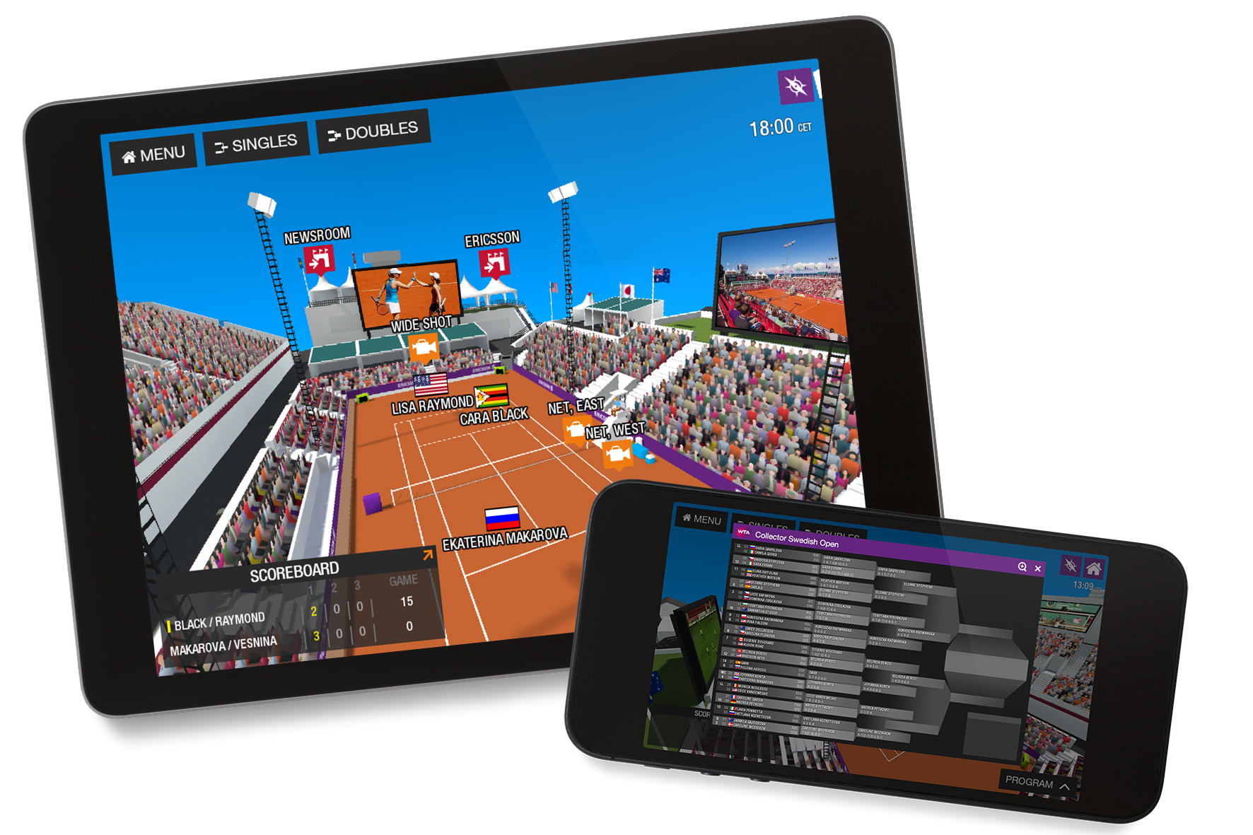 Ericsson Networked Event at Swedish Open