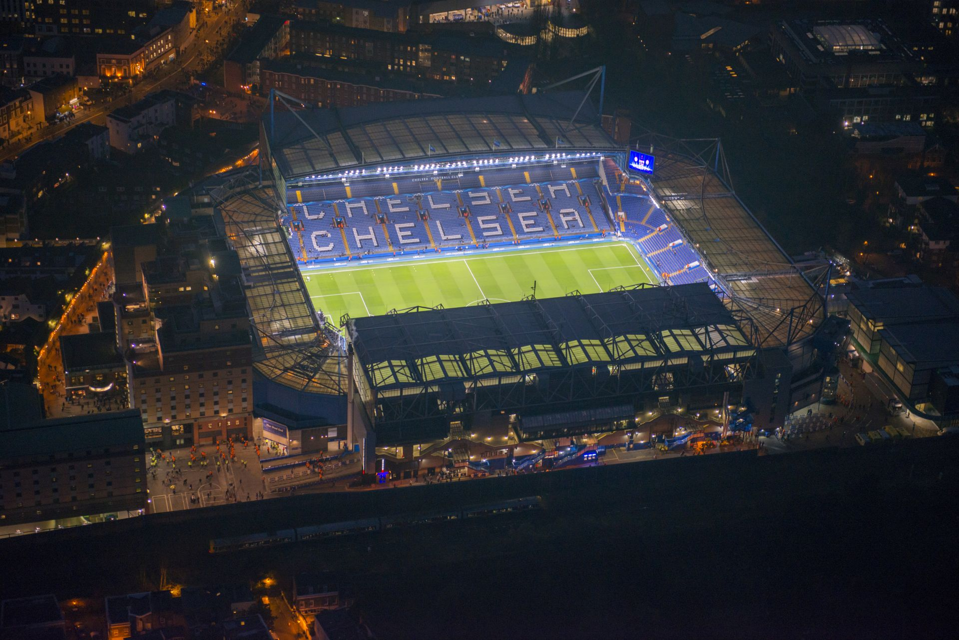 Ericsson Unveiled As Connectivity Partner For Stamford Bridge Chelsea Football Clubs Home Stadium In Fulham London