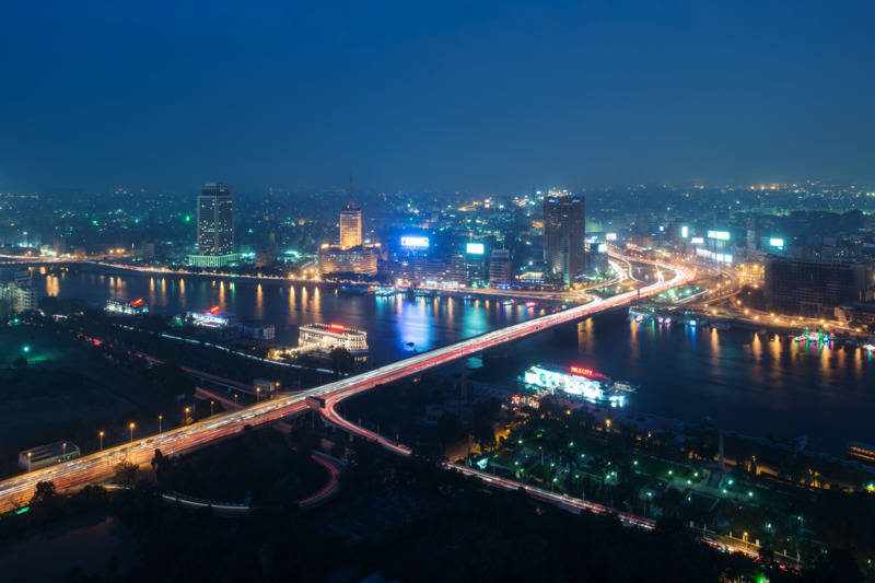 Egypt - The Nile city view
