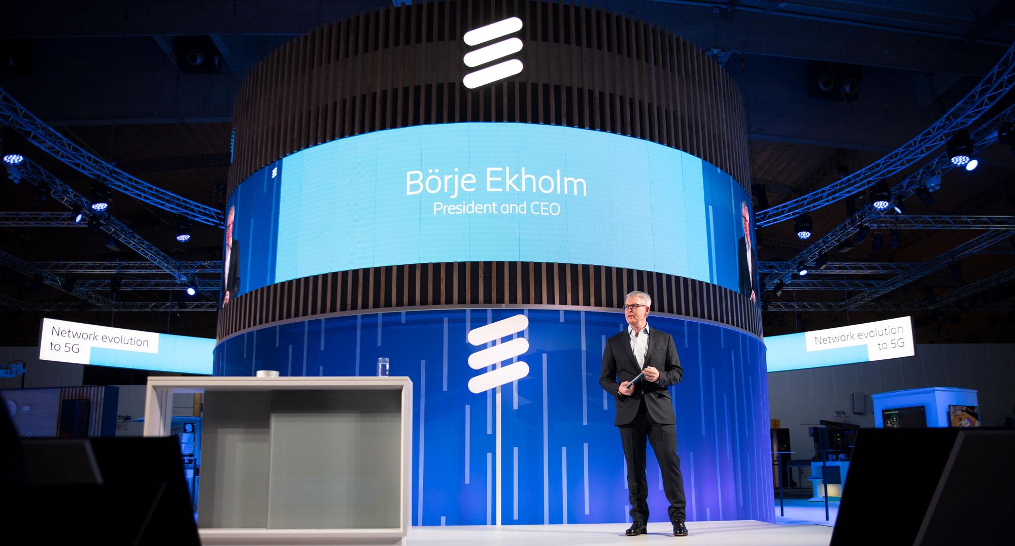 Börje Ekholm: Ericsson to switch on 5G globally in 2019