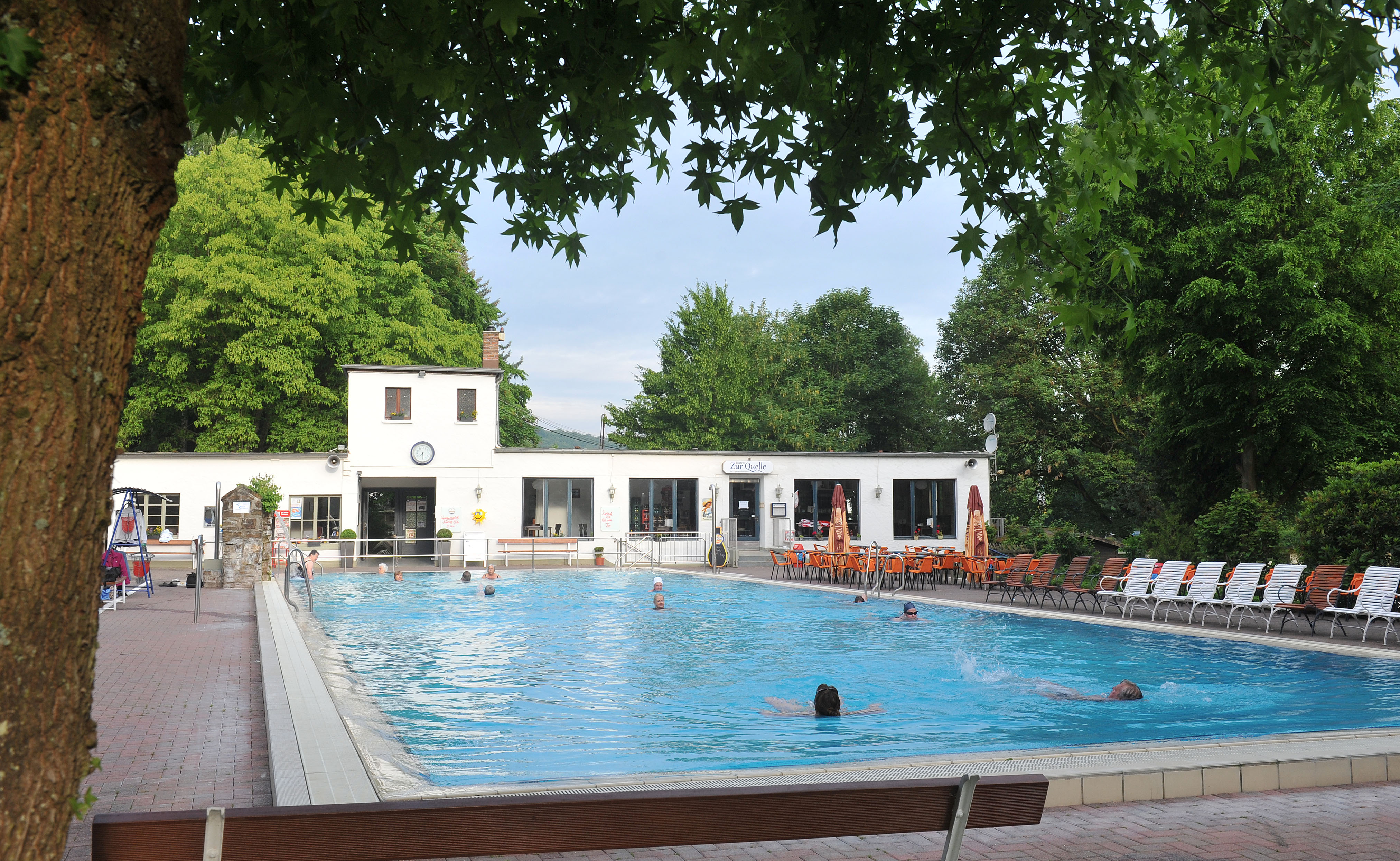 Bad Bodendorf Schwimmbad 26 Ahrtal Tourismus E V