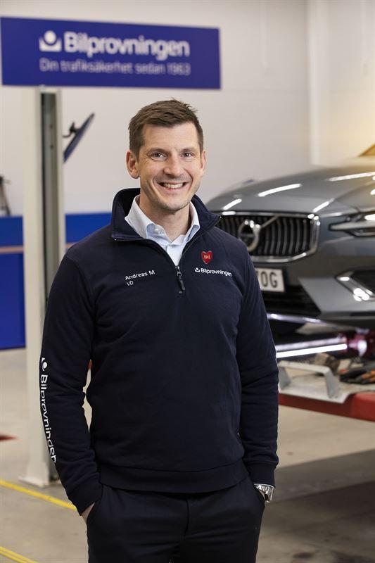 Bilprovningens vd Andreas Myhrman