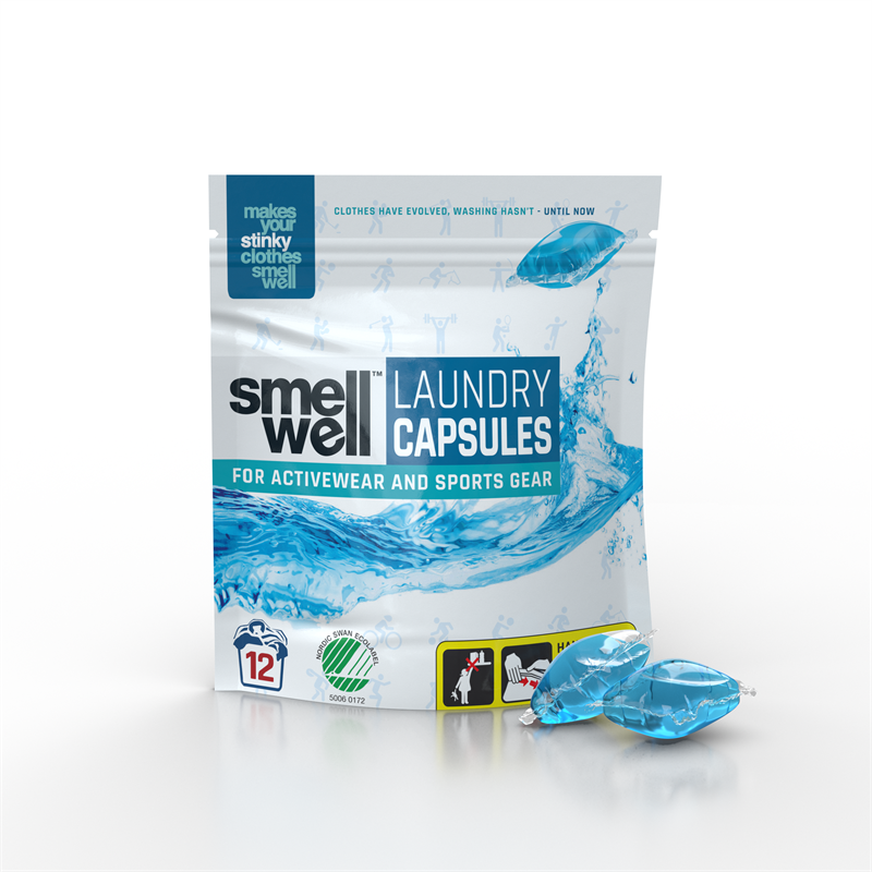 SmellWell Laundry Capsules packagepods