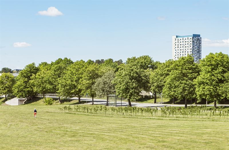 Tensta Torn  Tensta centrums nya landmrke fr Handelskammarens stadsmiljpris 2018