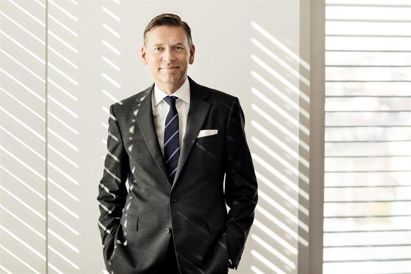 Raoul Grünthal tar plats i Rockers styrelse