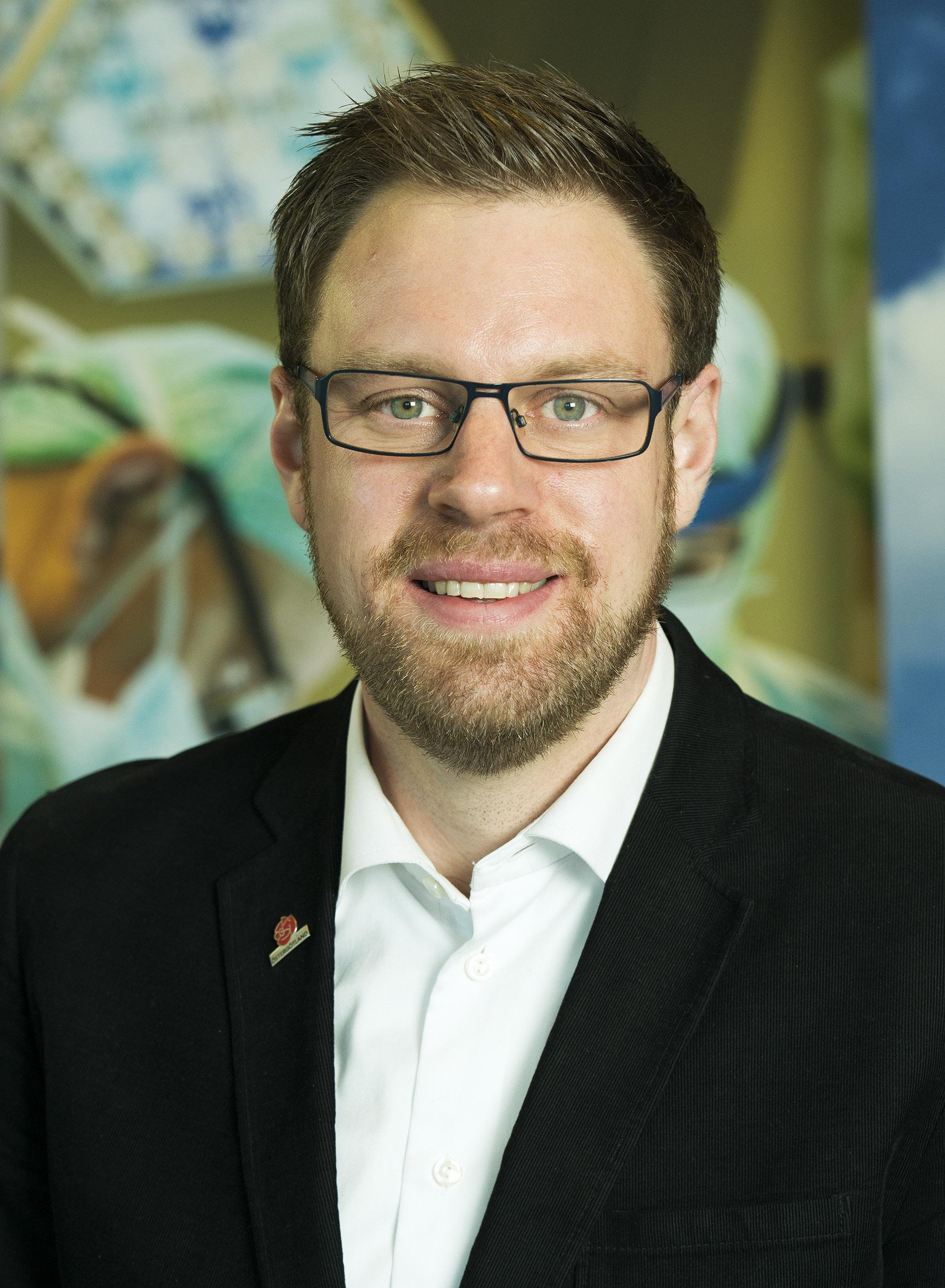 Christoffer Bernsköld (S), regionråd - Koalition för Östergötland