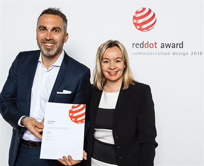 Metsa Board S Lidloc Awarded The Red Dot Design Award For Design Excellence And Creative Achievement Metsa Board Oyj
