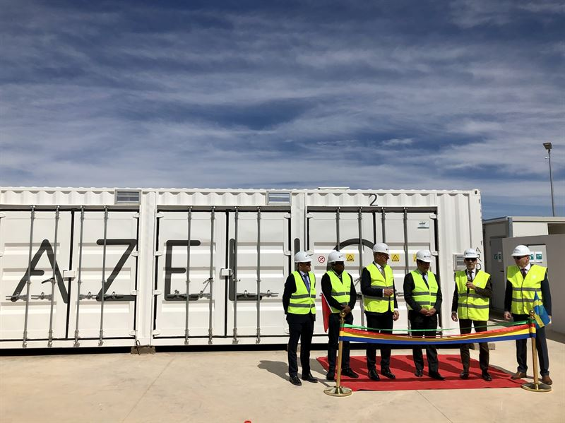 Azelios energy storage inauguration in Noor Morocco