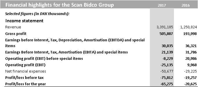 annual financial report 2017 scan bidco