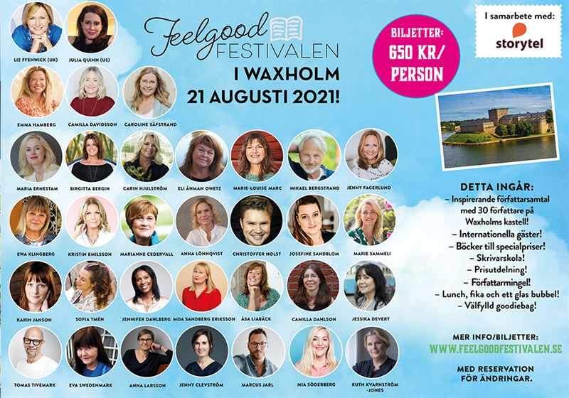 Feelgoodfestivalen i Vaxholm 2021