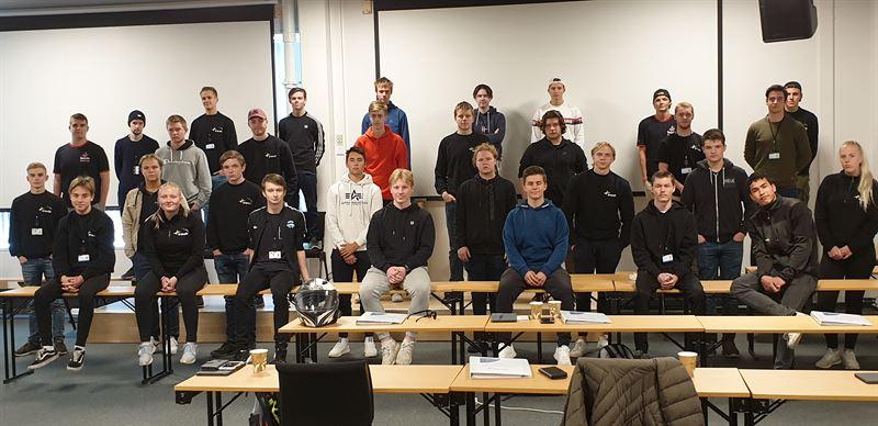 33 nye lrlinger til Bravidas avdeling i Trondheim er p introduksjon og opplring